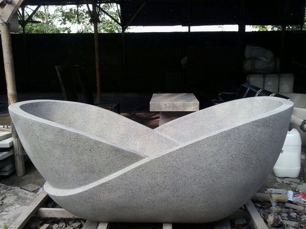 bath tub teraso jenis resin